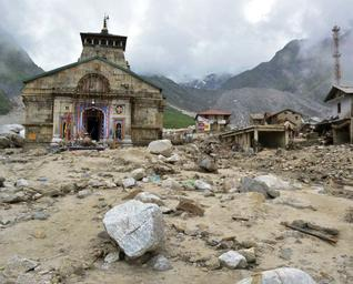 Devastation at Kedarnath; Photo courtesy: The Hindu