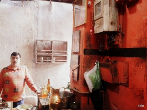 The legendary Baba Thandai near Godowalia, Varanasi