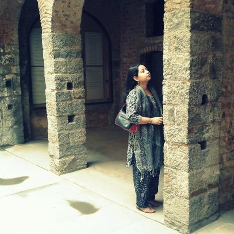 Haveli / Mansion of Mirza Ghalib
