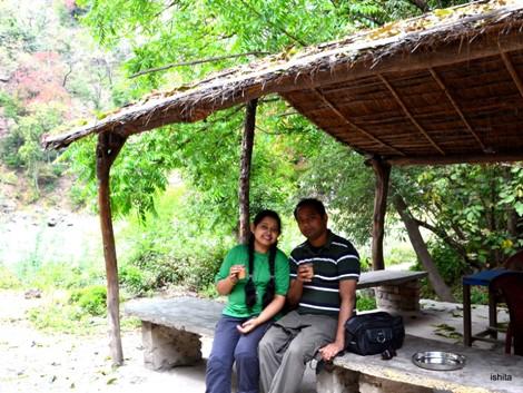 At Vindhyavasani Temple in Rajaji National Park