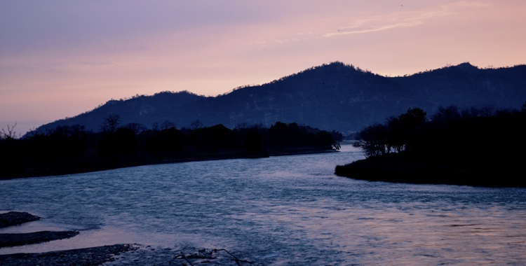 Ganges in Rajaji National Park