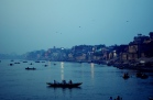 A beautiful morning on the ghats of Varanasi