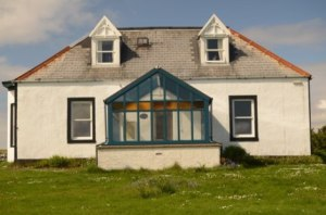 Gardiesfauld Youth Hostel in Uyeasound on the island of Unst.