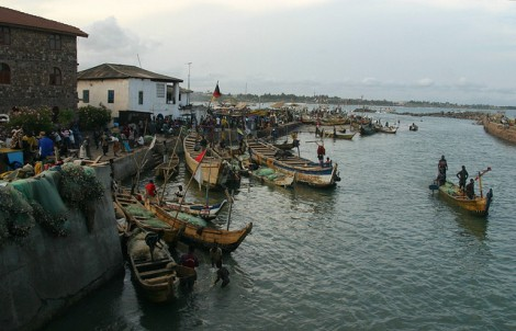 Elmina, Ghana; Photo Courtesy: Retlaw Snellac