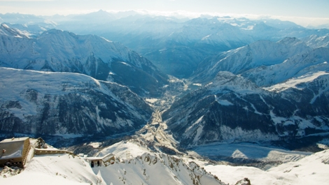 Courmayeur in Italy is one of the best luxury ski holiday destinations around the world.