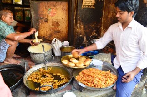 Chachi Ki Kachauri, Sabji & Jalebi at Lanka in Varanasi