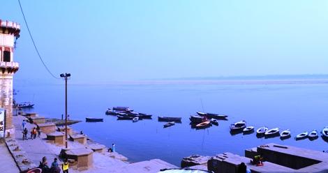 Assi Ghat in Varanasi