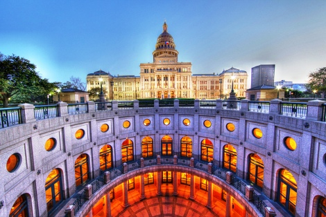 Texas State Capitol HDR. Photo courtesy: Anthony Quintano