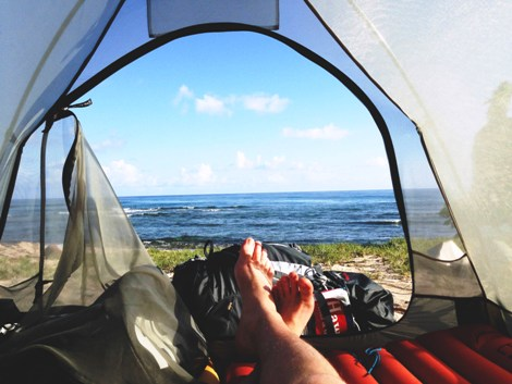 Wild camping. Photo credit: www.pexels.com