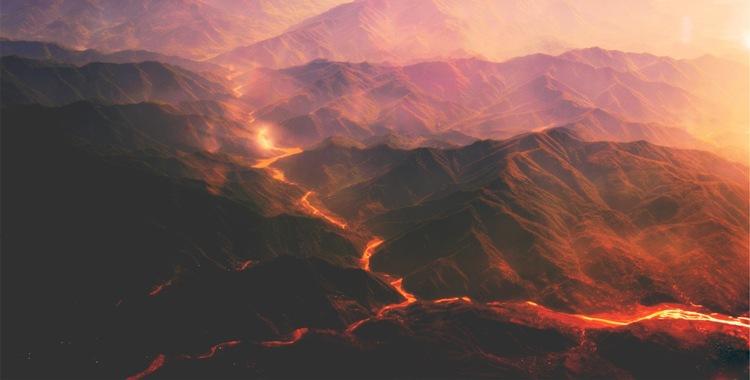 Lava Flow. Photo credit: Ayda Kaptanoglu