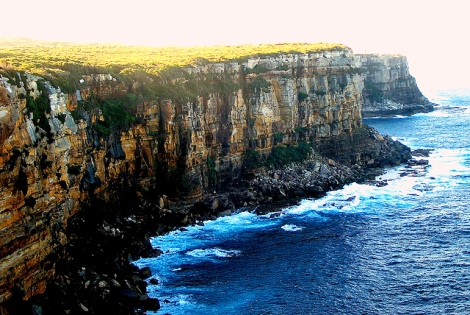 Cliffs South of Collaroy: 12 Miles Northeast of Sydney, Australia. Photo credit: Thomas Depenbusch