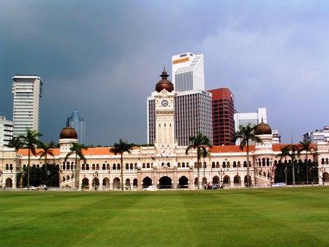 The Sultan Abdul Building in Kuala Lumpur