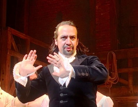 "Photo 2:  A still from one of the most popular Boradway shows - ""Hamilton"" Photo credit: Steve Jurvetson 