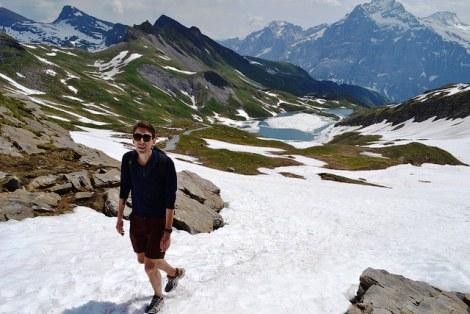Hiking in Grindelwald, Switzerland | Photo credit: Kristoffer Trolle