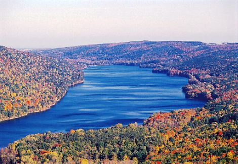 Canadice Lake in the Finger Lakes | Photo credit: www.wikimedia.org