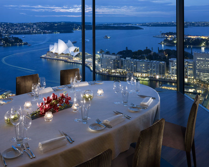 5 sydney restaurants with spectacular views travel escapes for Best dining rooms in sydney