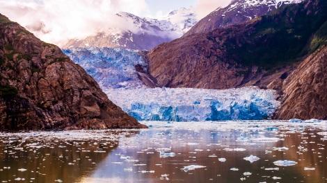 Alaska travel fjord