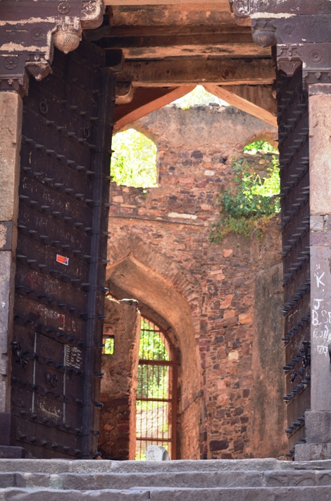 Ranthambore Fort is located near Sawai Madhopur in Rajasthan