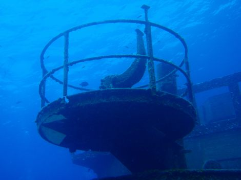 USS Kittiwake, Cayman Islands